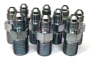 "5/16"" -5 JIC X 3/8"" -6 NPT (10) pcs HYDRAULIC ADAPTER FITTING"