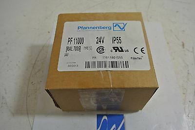 Pfannenberg PF 11000 Filterfan 24 V IP55 Type 12 NEW IN BOX