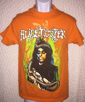 2005 Alice Cooper Halloween Concert Tour t-shirt size adult Small