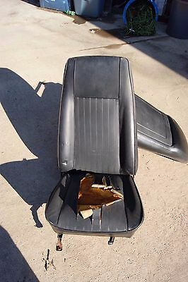 Oem 1967-1970 Mustang Mach 1 Boss Eliminator-Cougar Xr7 High Back Seat