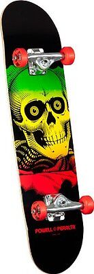 Powell-Peralta Blacklight Ripper Complete Skateboard, Red