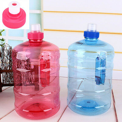 2L Big BPA Free Sports Training Drink Water Bottle Kettle Cup With Handle Cap GW