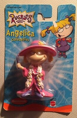 Rugrats Collectible Figure - Angelica SLUMBER PARTY Mattel Toy Vintage