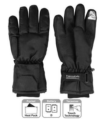 Dual Fuel Battery Heated Performance Gloves hands warm By Warmawear Medium