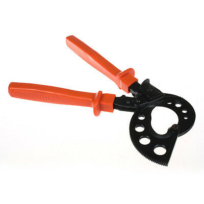 Ratchet Cable Cutter HS-765,Adjustable Handle,Cutting Range 400mm² Max