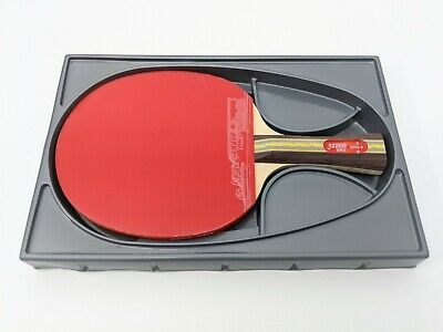 Brand-New 3 Star DHS 3002  Table Tennis Paddle Bat Ping Pong Racket FL