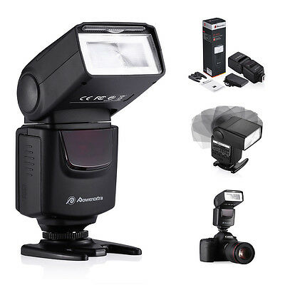 Universal Hot Shoe Flash Speedlite Slave Light For Canon Nikon DSLR Camera UK