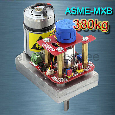 ASME-MXB DC12-24V 3600° 380kg.cm High Torque Alloy Servo for Robot Arm
