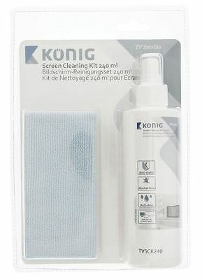 Konig Screen cleaning kit anti-drip fluid 240 ml
