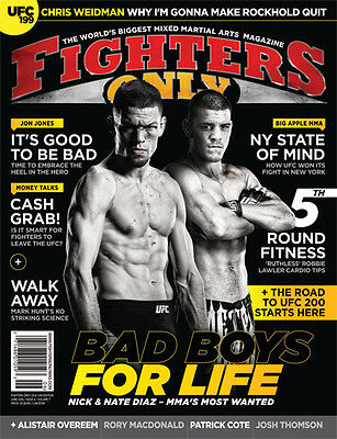 Fighters Only Magazine Issue 142 (June 2016 Issue)