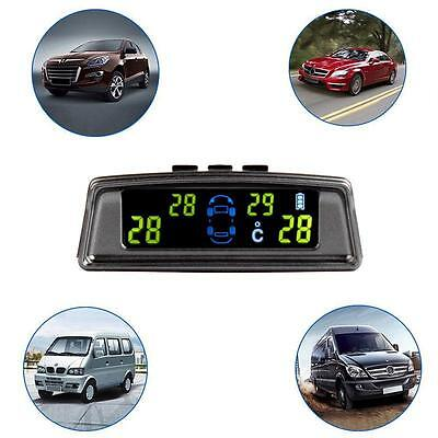 TPMS LCD Display Car Wireless Tire Tyre Pressure Monitoring System