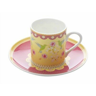 New Maxwell & Williams Cashmere Enchante Antoinette Demi Cup & Saucer