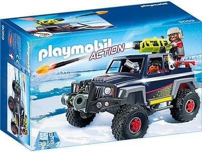 PLAYMOBIL Action 9059 Ice pirates Truck Car Jeep