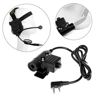 Z- Tactical U94 PTT Headset Military Adapter Cable For Mobile Phone 3.5mm Jack