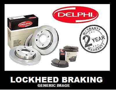 Ford Mondeo Mk 3 2001  2004 Rear Discs And Pads Set