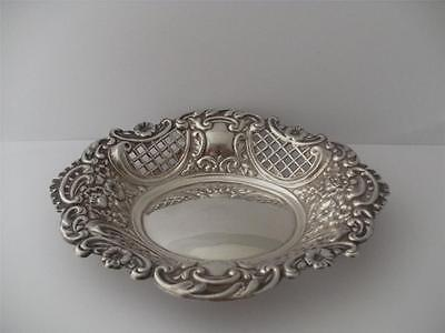 BEAUTIFUL STERLING SILVER BON BON TRAY DISH Birmingham 1971