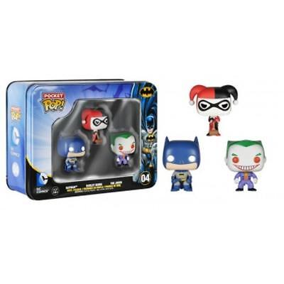 Funko Pocket POP! - Batman - Tin 3-Pack - Batman, Harley Quinn & The Joker
