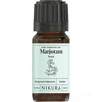 10ml MARJORAM (SWEET) ESSENTIAL OIL - 100% Pure and Natural Aromatherapy