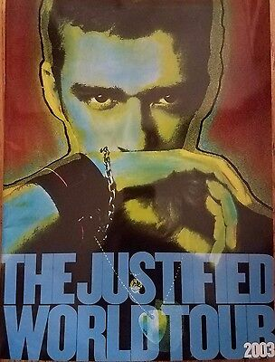 Justin TImberlake The Justified World Tour Program Book 2003