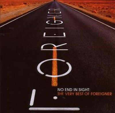 Foreigner - No End In Sight Very Best Of 2Cd Neu & Ovp