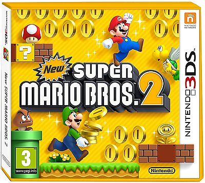 New Super Mario Bros 2 Nintendo 3DS - Brand New and Sealed