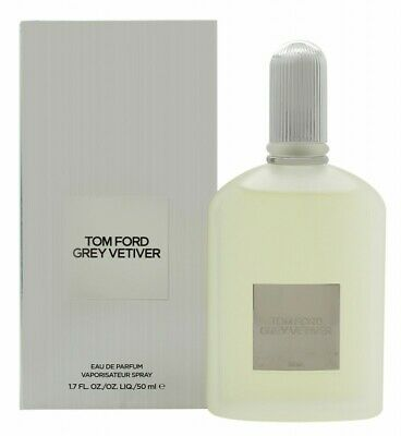 Tom Ford Grey Vetiver Eau De Parfum 50Ml Spray - Men's For Him. New