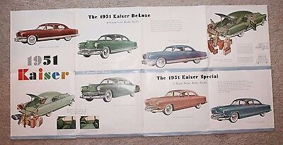 1951 Florin, PA Kaiser Dealership Salesman Brochure
