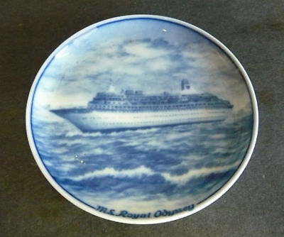 Vintage ROYAL CRUISE LINE M.S ROYAL ODYSSEY PLATE dish