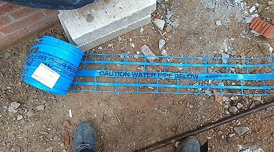 terram below underground water marker warning tape utilitape identification pipe