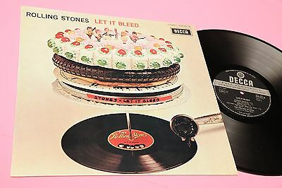 Rolling Stones Lp Let It Bleed France 1969 Nm Decca Unboxed Laminated Cover