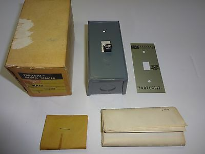 Federal Pacific Electric 4003 T02Sn Protectit Manual Starter