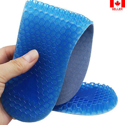 Insole Shoe Foot Care Womens Gel Honeycomb Arch Support Cushion Running Pads