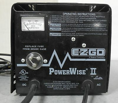 ezgo powerwise ii 36 volt 21 amp battery charger 602718 350 00 rh picclick com Schumacher Battery Charger Manual Schumacher Battery Charger Manual