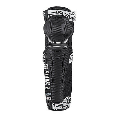 O'Neal Trail FR Carbon Look Mountain Bike Knee Pads/Guards Set - DH Trail MTB