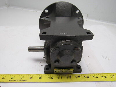 BALDOR GSF1013AA Right Angle Gearbox Speed Reducer 10:1 175RPM Out 56C 207 in lb