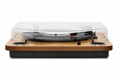 ION Audio Max LPBelt-Drive Turntable with Built-in Stereo USB Conversion - Wood