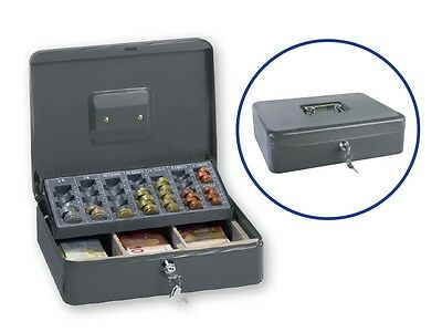 New Cash / Money Box with GB coin tray new £1 coin also fit in to old £1 tray