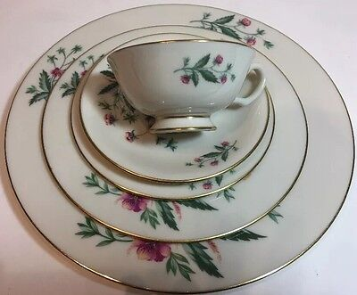 """Lenox """"COUNTRY GARDEN"""" 5 Piece Place Setting Service for 1 (W-302) USA"""
