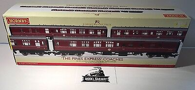 Hornby - R4229 - 'THE PINES EXPRESS' COACH TRIO PACK - MINT - BOXED - RARE ITEM