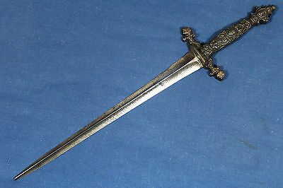 Antique French romantic dagger with an early 18th century blade - France 19th