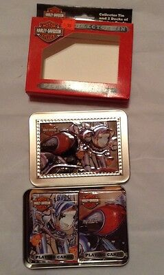 Harley Davidson Playing cards In Collectors Tin