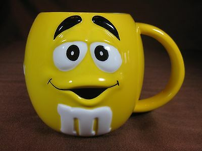 Galerie 2003 Large Yellow M&M Mug