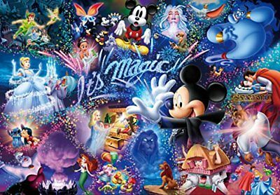 500-piece jigsaw puzzle Stained Art Disney It's Magic! Tight series 25x36cm