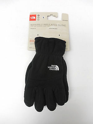 The North Face Manaslu Insulated Glove Fleece Black AVDQ Unisex New & Authentic