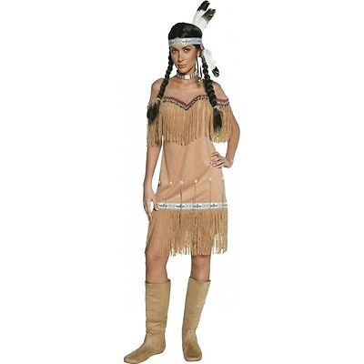 Costume indienne beige authentic western taille m