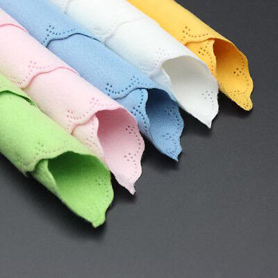 5X Microfiber Clean Polishing Cloth Guitar Violin Piano Clarinet Sax Instrument
