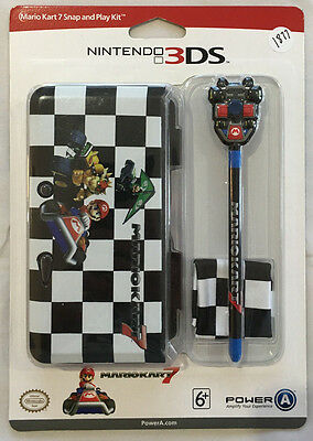 Nintendo Mario Kart 7 Snap And Play Kit For Nintendo 3Ds Brand New
