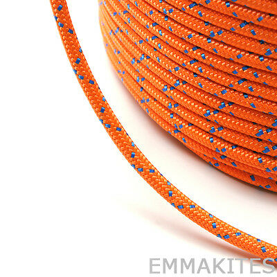 8mm 50ft Double Braid Accesory Cord Rope CE CERTIFIED for Climbing Lanyard