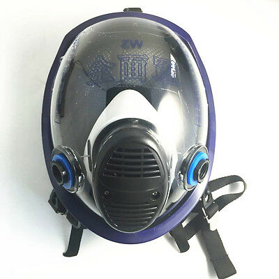 Painting Spraying Facepiece Respirator For 3M 6800 Full Face Gas Mask Replace