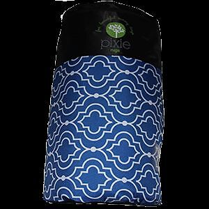NEW Picnic Rug Mat Blanket Waterproof Outdoor 2.2 x 1.6m- Blue Mod Tangier